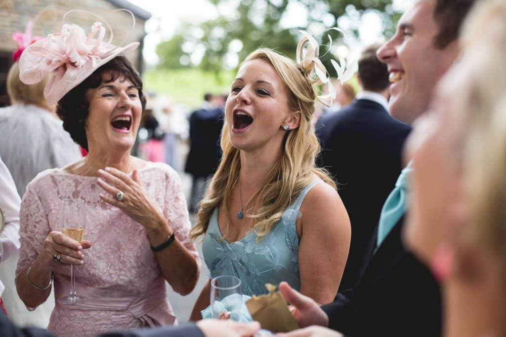 wedding reaction