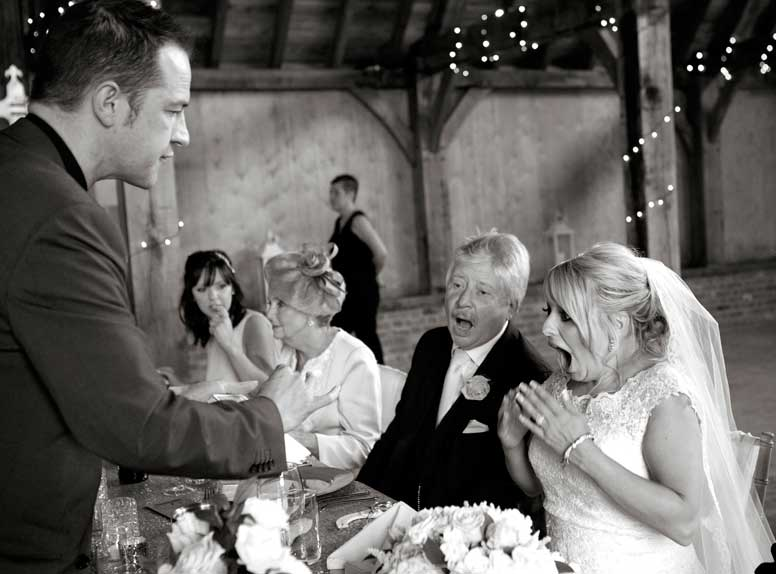wedding magician north west